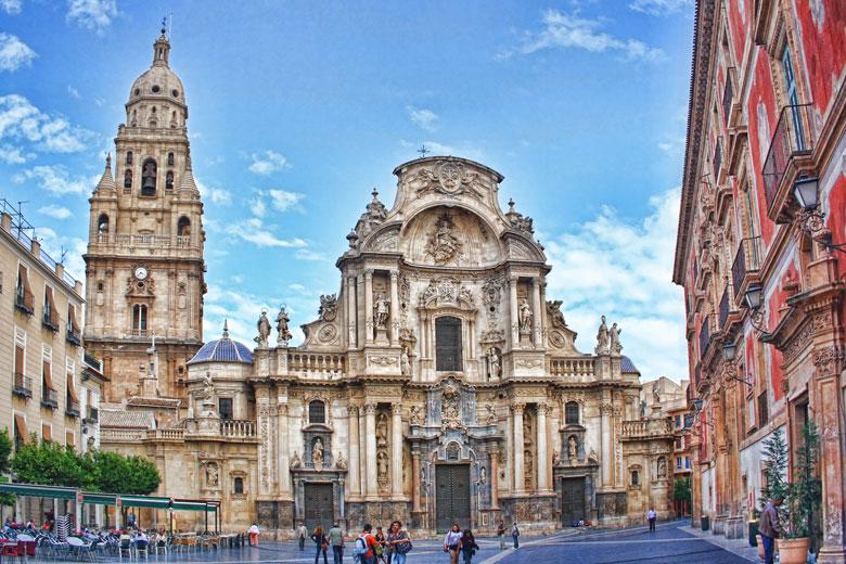 Murcia-Cathedral-AlquilerCochesAeropuertos
