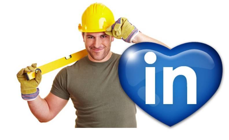 LinkedIn albañil ove