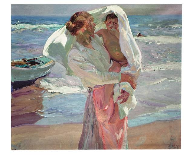 CAST Joaquín Sorolla. Saliendo del baño, 1915 #591807871