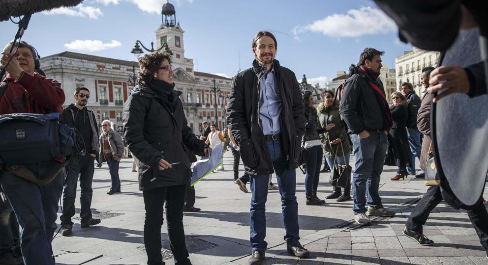 pablo-iglesias-secretary-general-of-spanish-podemos-party-smiles-before-the-shooting-of-a-video-at-puerta-del-sol-square-in-madrid