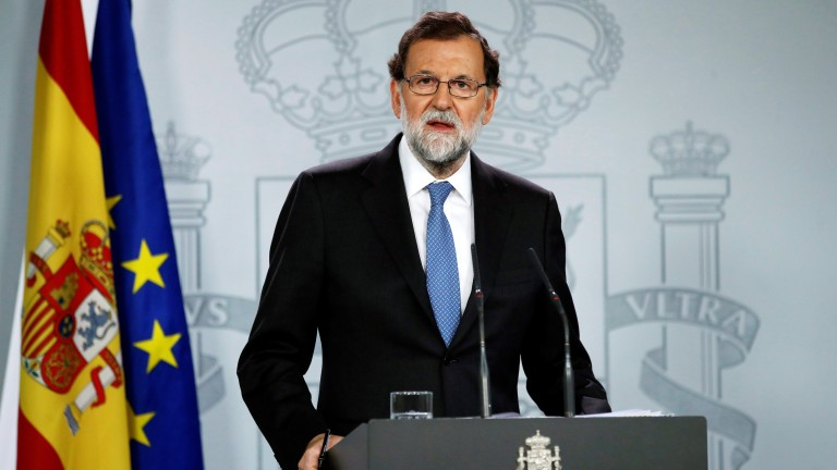 Spanish PM Rajoy decided to sack Catalonia government to restore rule of law