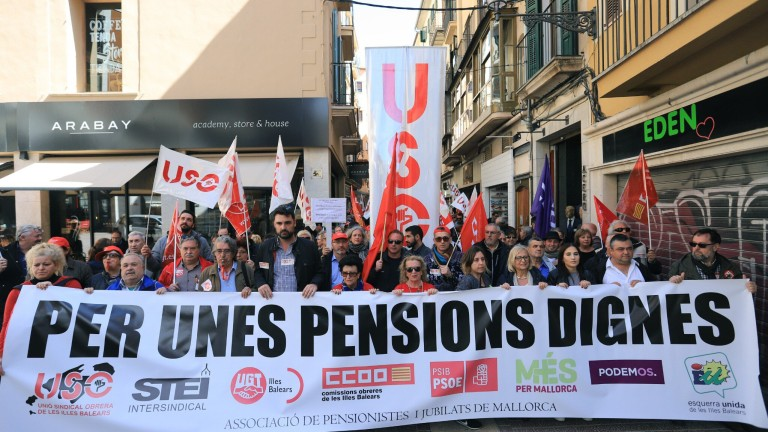 Pensioners demand decent pensions