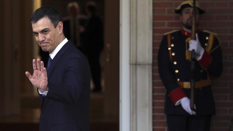 New Spanish Prime Minister Pedro Sanchez meets Ukrainian President