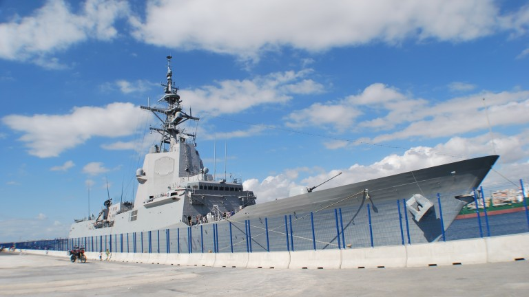 Mendez Nuñez warship, Spain Navy