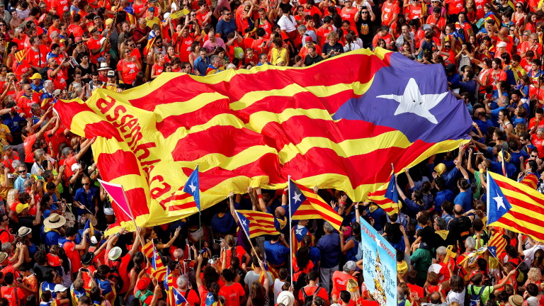National Day of Catalonia (Diada) celebrations